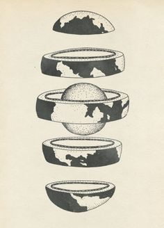 LaPetiteGrosse voit les choses #illustration #earth