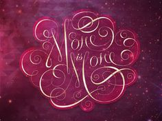 More is More BeeTeeth SLC #typography #type #calligraphy #script #decorative #ornamental #more is more