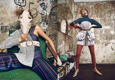 Photography by Evgeniy Kuznetsov, fashion by Nike Shabashova
