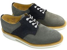 The-Glade - Mark McNairy New Amsterdam Two Tone Saddle Shoe