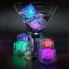 Decorative LED Ice Cubes #tech #gadget #ideas #gift #cool