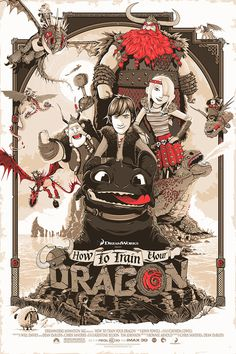 Barbarian Factory – The art of Patrick Connan — 'This is Berk' – How to Train your Dragon #inspiration #illustration