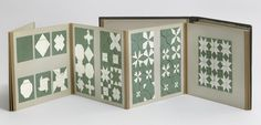 Fannie E. Kachline. Paper folding. c. 1890 #print #folding #paper