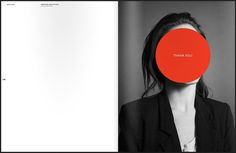 """Something From Nothing"" portfolio by Elena Miska #portfolio #design #graphic #book #geometric #miska #portrait #elena"