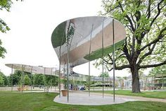 serpentine galley pavilion by sanaa 3 1.jpg #mirror #architecture #reflection