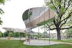 serpentine galley pavilion by sanaa 3 1.jpg #mirror #architecture #reflection
