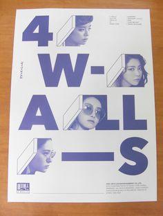 F (x) - 4 Paredes (versión A) [oficial] K-pop de cartel * Nuevo * Fx | eBay