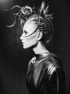 Swedish photographer Jasmin Storch in Children of The Revolution #white #revs #black #storch #and #fashion #jasmin #magazine