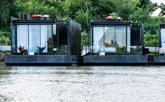 X-Float on the River Kwai Bridge