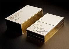 Gorgeous Gold Foil Stationery by Turnstyle | Inspiration Grid | Design Inspiration