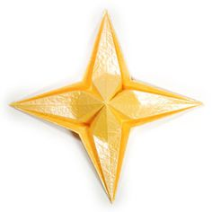 How to make an embossed four-pointed origami star ( http://www.origami-make.org/howto-origami-star.php)