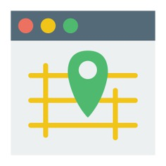 See more icon inspiration related to map, gps, browser, html, website, web page, interface and multimedia on Flaticon.