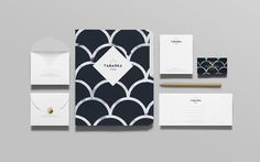 Tabarka Studio on Behance #print #stationary