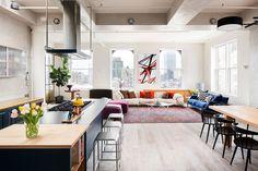 Homy feeling within an industrial shell loft apartment in SoHo by Casamanara - HomeWorldDesign (5)