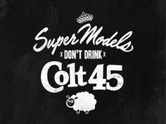 Supermodels don #logo #vintage