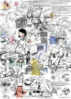 Sketches Art Print by Sergi Ferrando   Society6 #doodles #illustration
