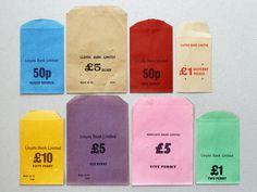 Vintage Money Bags #bags