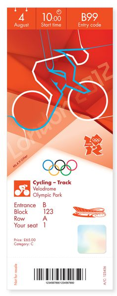 Creative Review   Olympics ticket designs revealed