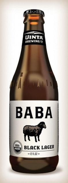 Uinta Brewing Co. Label Redesign: BABA « The Tenfold Collective Blog #beer #label