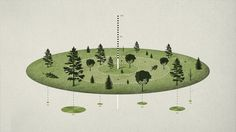Isometric #isometric #infographic #design #texture #natural #trees