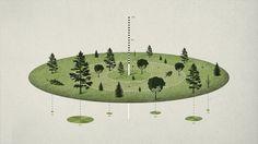 Isometric #isometric #infographic #design #texture #natural #trees