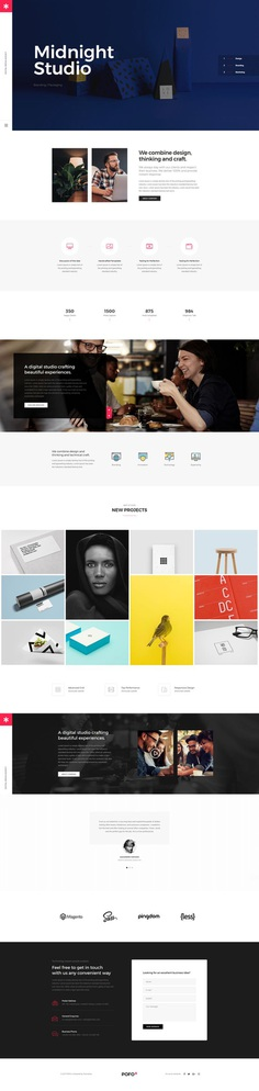 Pofo - #Creative #Portfolio and #Blog #WordPress Theme for Creative #Studio by #ThemeZaa