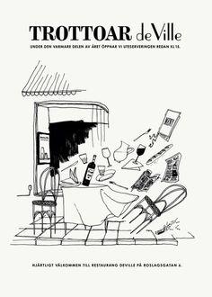 de Ville Poster by Daniel Carlsten