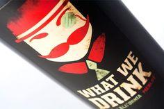Alisha Renee Homan | Graphic Designer #homan #what #bottle #drink #we #wine #alisha #mustache