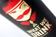 Alisha Renee Homan | Graphic Designer #homan #what #bottle #drink #we #wine #alisha #mustache