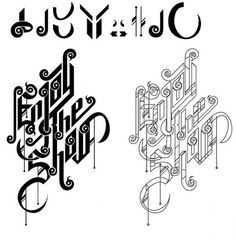 Typography on the Behance Network #type #typography