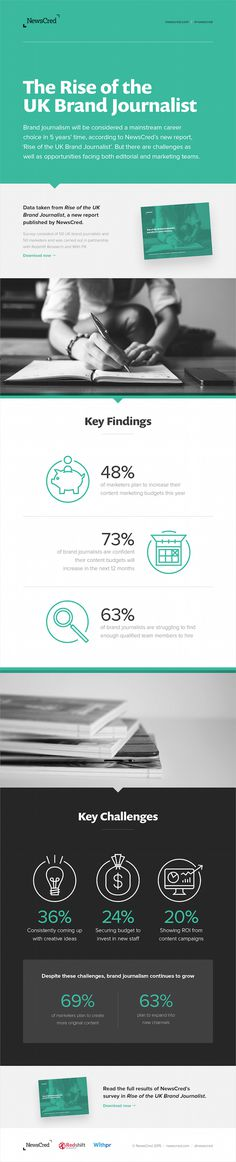 marketing, content marketing, green, sections, infographic, data, visualization