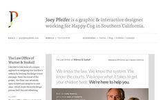 Joey Pfeifer #website #siteinspire #minimal
