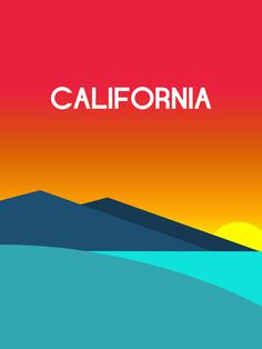 Poster #california #poster