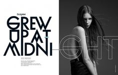 Neo2Magazine #graphic design #girl #fashion #magazine #photos #typopraphy