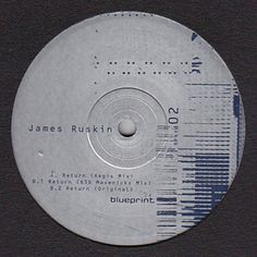 JAMES RUSKIN / REGIS Return (Regis Mix) image #vinyls #packaging #design #graphic #sleeve #vinyl #cd