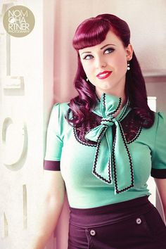 Lulu von Loffelstein ♥ – Pin up Fever ♥ #vintage #photography #pin up