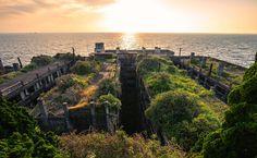 CJWHO ™ (Gunkanjima (軍艦島, Battleship Island) officially...) #design #landscape #abandoned #photography #architecture #art #japan