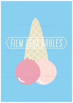 allan aubry #illustration #filmdeuxboules #poster