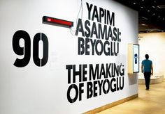Project Projects — Becoming Istanbul #signage #type #wall #typography