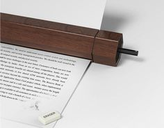 Always wanted to make those little changes to a document after printing it? Well, consider erasing, with pencil printer, you can. #technology #product #design #industrial