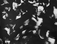 . figure perspective #movement #blackwhite #crowd