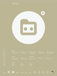 Universal Branding System Poster (A\\xc3\\xa4lejandro D\\xc3\\xadazs)