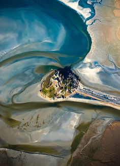 CJWHO ™ (Mont Saint Michel by Nicolas Cazard Mont...) #architecture #photography #landscape #aerial #france #amazing #mont saint michel