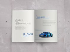 Audi R8 Brochure on Behance