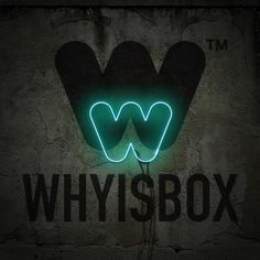 Welcome to Whyisbox™ Graphic Design and Illustration - Nottingham #whyisbox #logo #design #neon