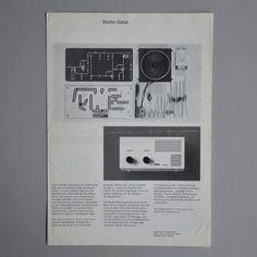 Braun Lectron System brochure 1969 via www.dasprogramm.org