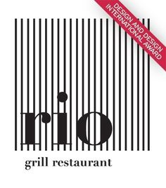 all in one / Restaurante Rio Grill Viseu 2010 www.artspazios.pt #business #packaging #card #print #design #book #restaurant #architecture #art #poster #logo #layout #artspazios #typography