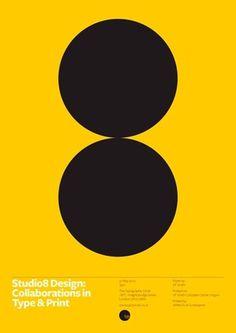 Studio8 Lecture Poster « Studio8 Design #print #studio8 #poster