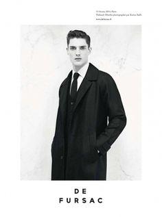 de-fursac-fw-2011-1.jpg (1162×1560) #elegant #blackwhite