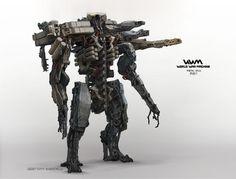 #AaronBeck #robot #scifi